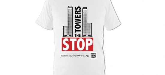 Stop The Towers T-Shirts